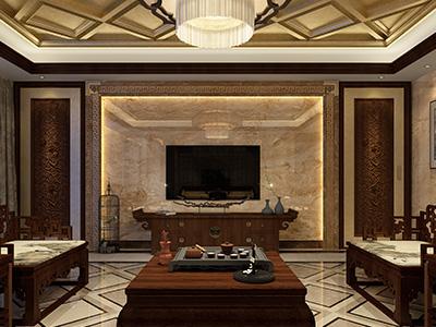 福湘家园中式装修案例
